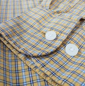 Nautica Long Sleeve Plaid Button Down Shirt